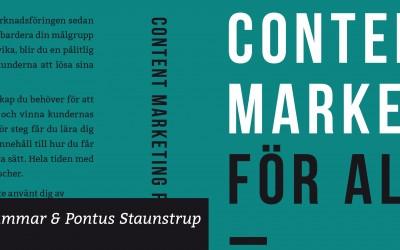 Om boken content marketing för alla